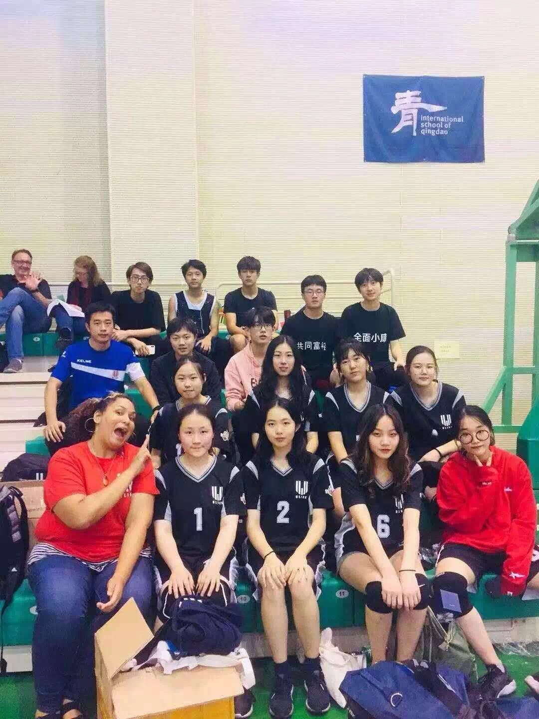 排球队 Volleyball Team